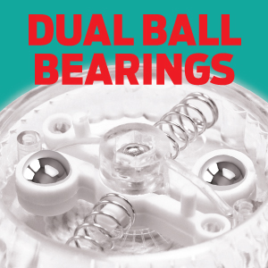 dual ball bearings inside