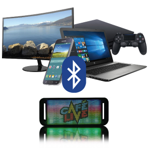connect to hundreds of devices via bluetooth