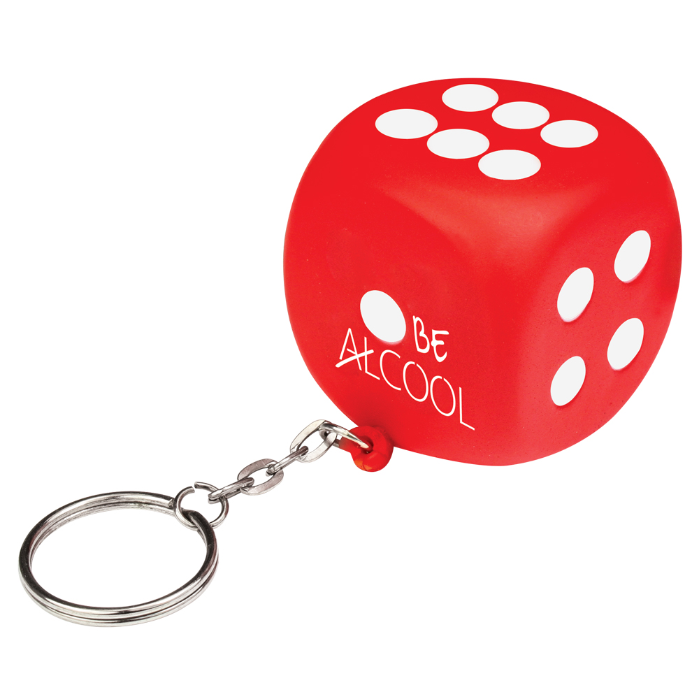 Stress Dice Keyring