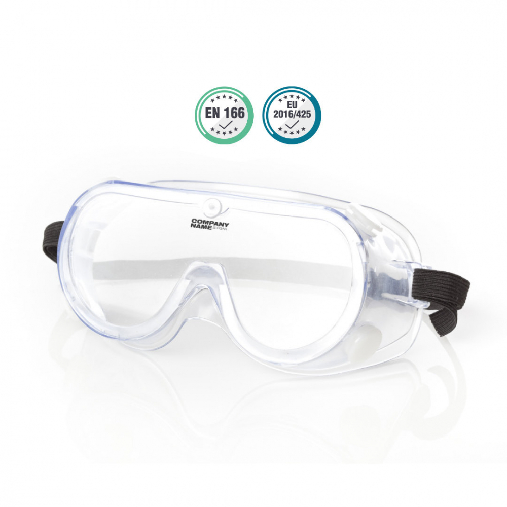 Anti-fog Clear Safety Goggles