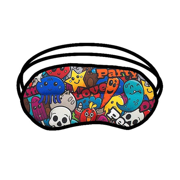 Custom Printed Eye Masks