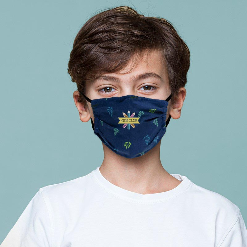 Children's Custom Fabric Face Mask