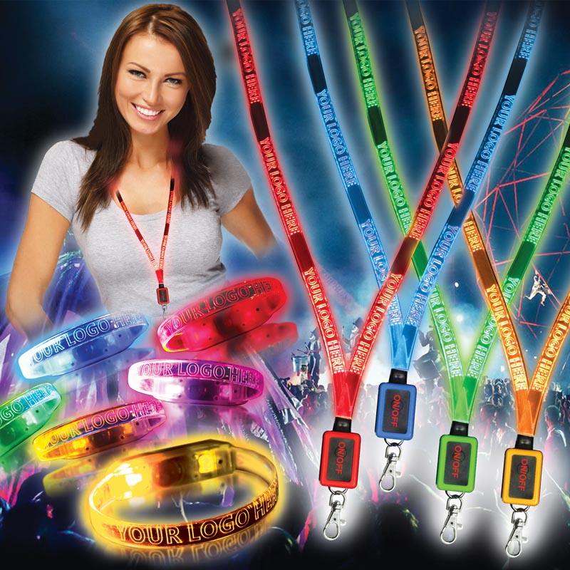Led Wristbands & Lanyards