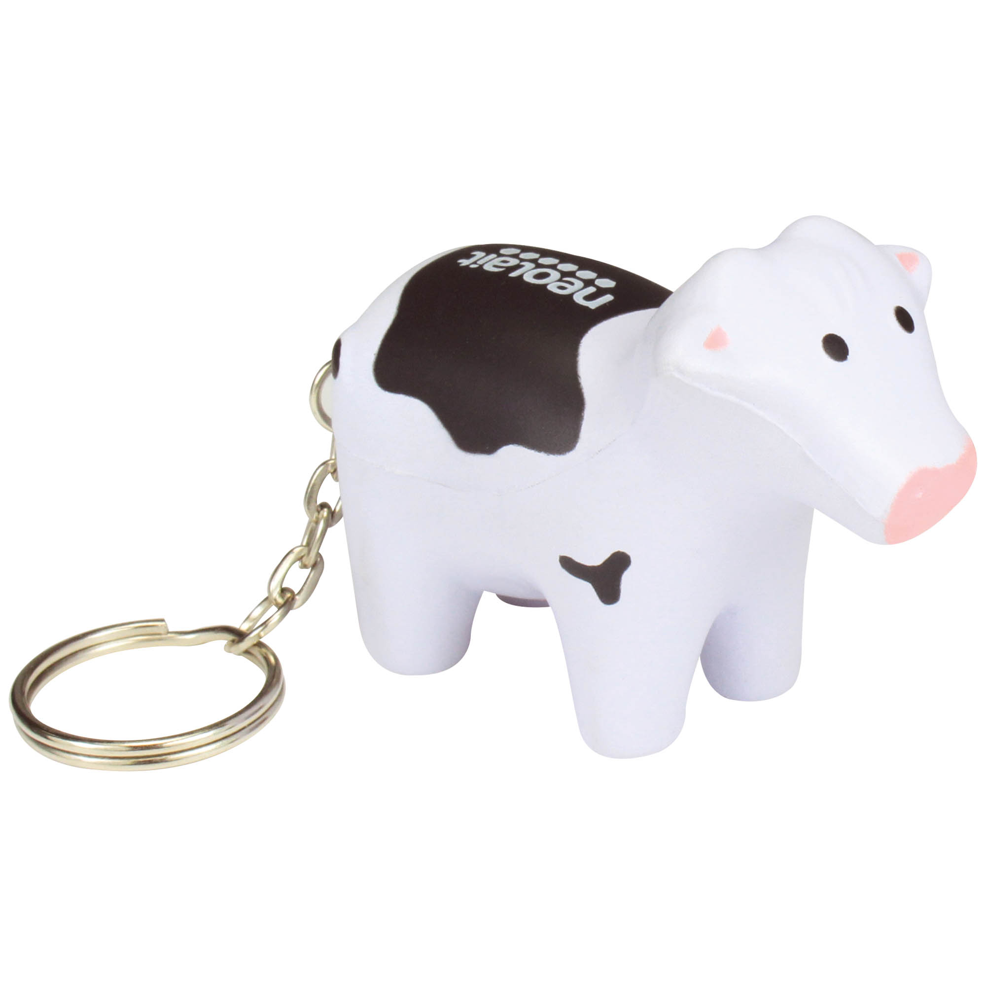 Stress Cow Keyring *