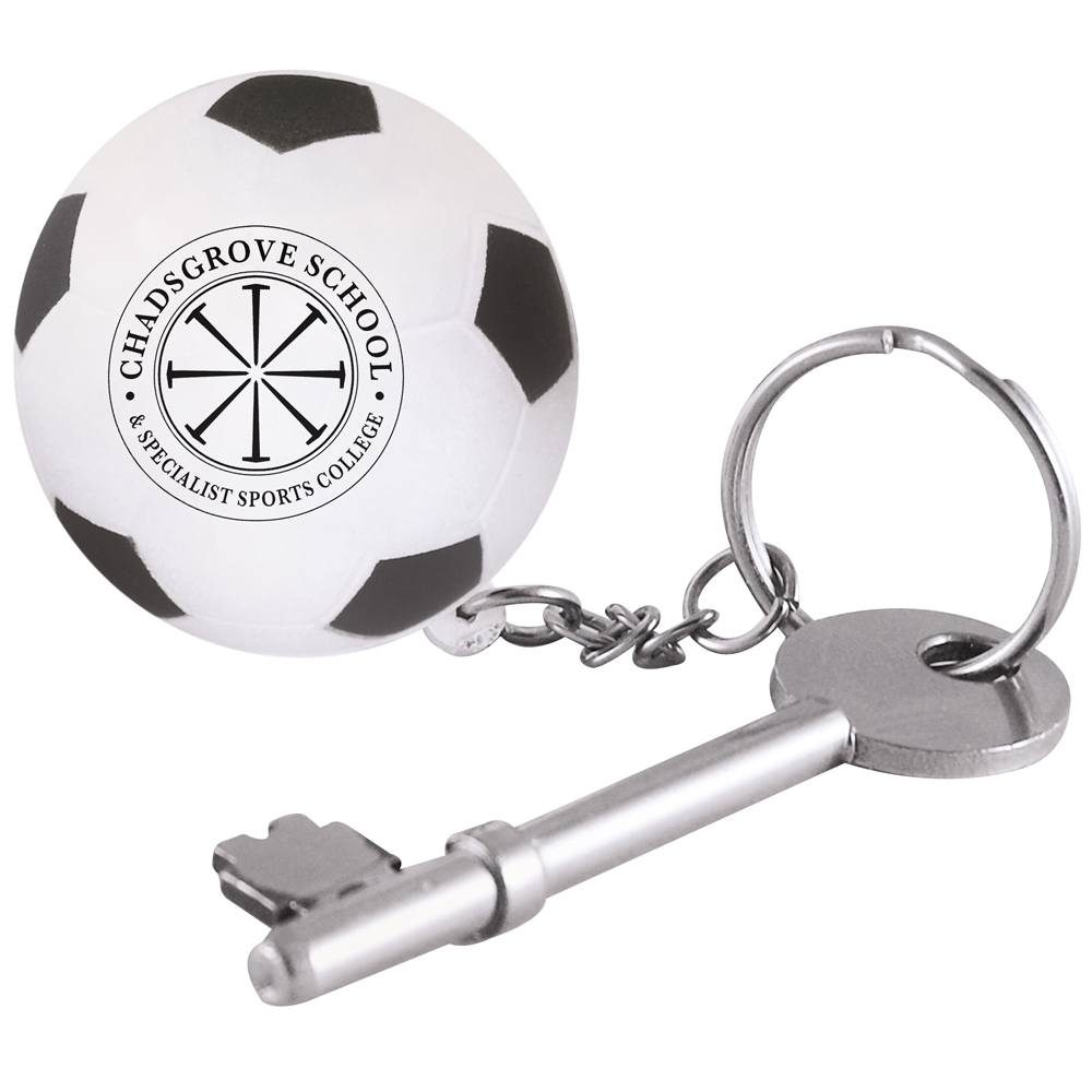 Stress Football Keyring *