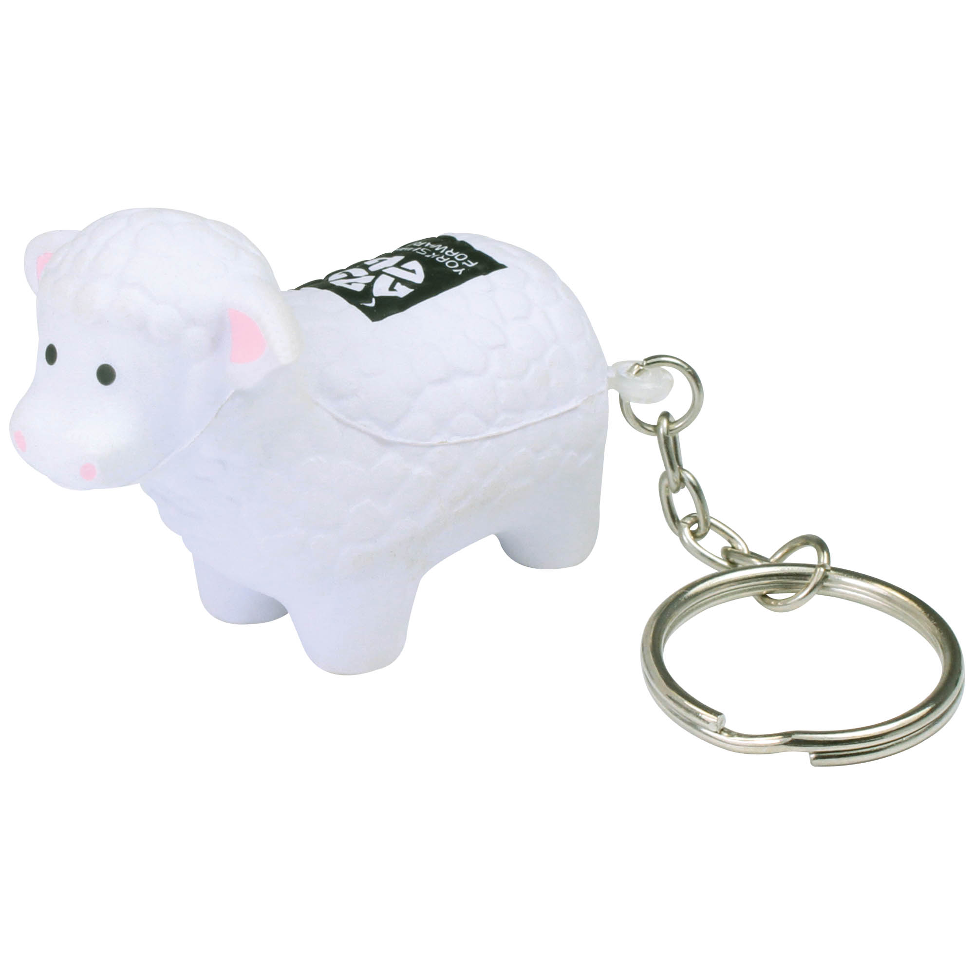 Stress Sheep Keyring