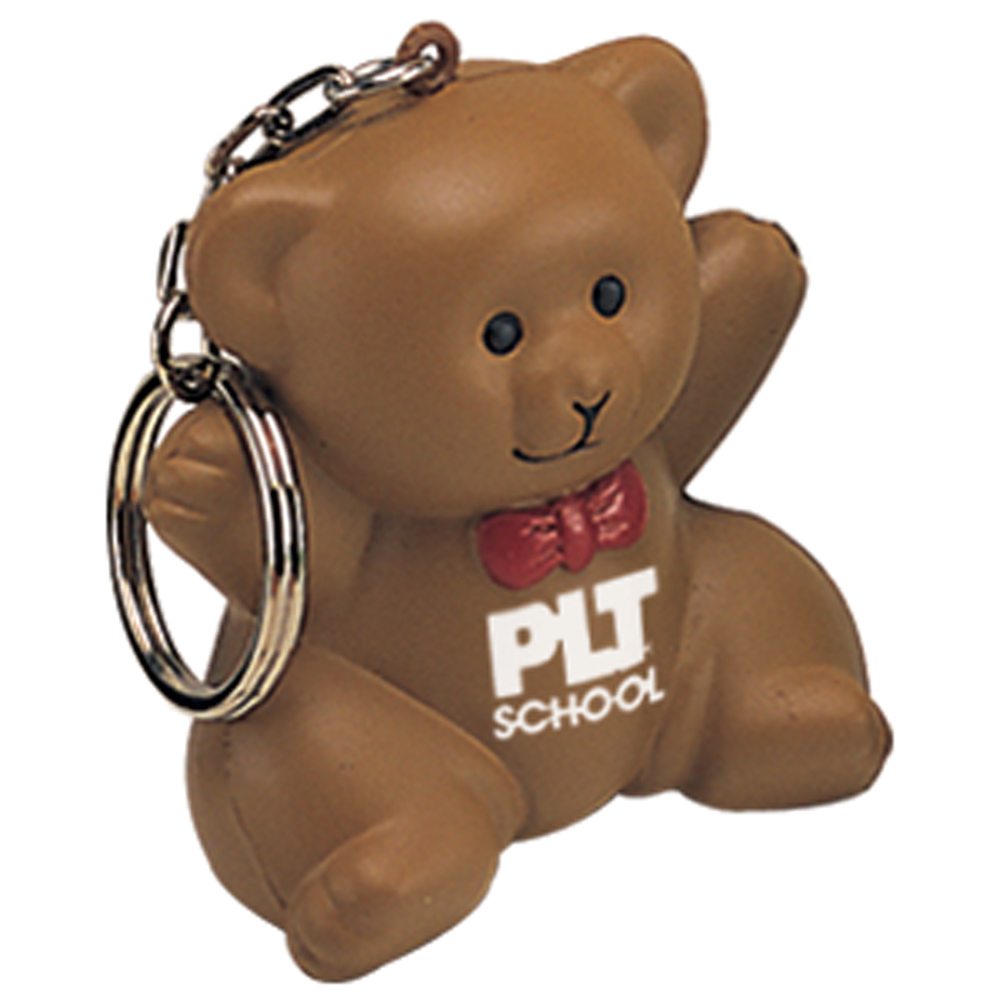 Stress Teddy Bear Keyring
