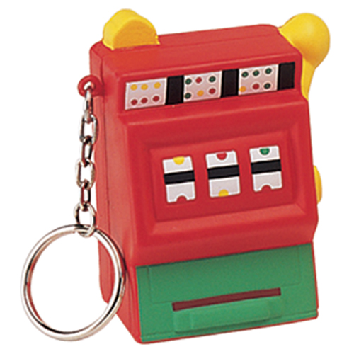 Stress Slot Machine Keyring