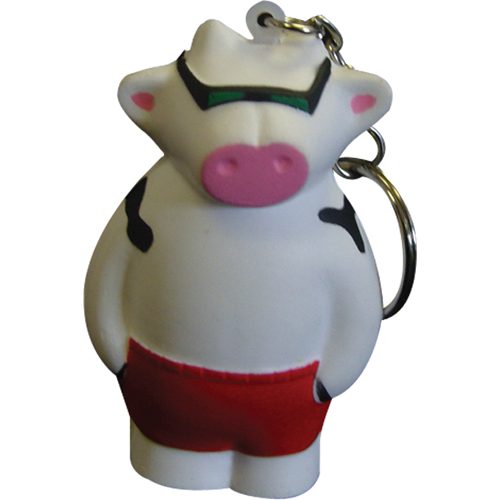 Stress Cool Cow Keyring