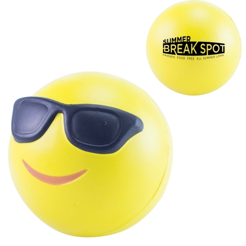 Stress 3D Cool Emoji