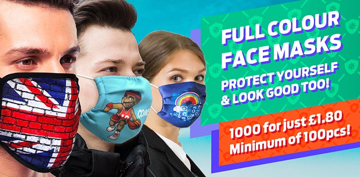 Full Colour Facemasks